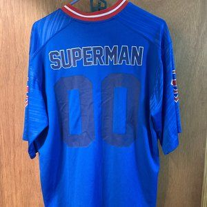 Superman Jersey - Adult Small